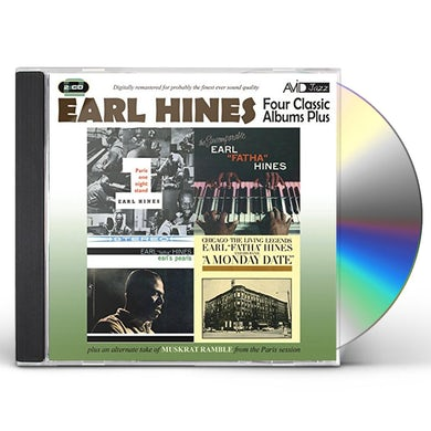 Earl Hines MONDAY DATE / PARIS ONE NIGHT STAND / EARL'S PEARL CD