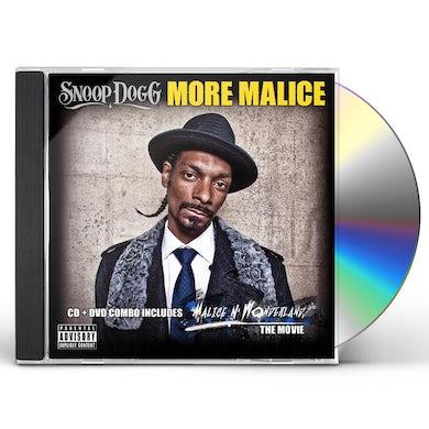 Snoop Dogg MORE MALICE CD