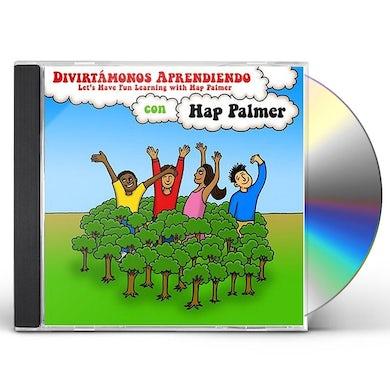 Hap Palmer DIVIRTAMONOS APRENDIENDO: DISCONTINUED & REPLACED CD