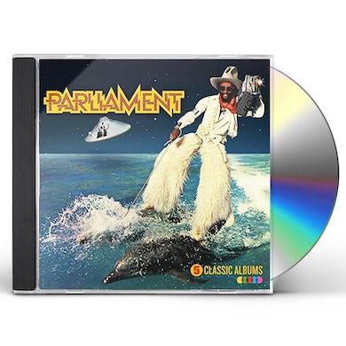 Parliament 5 CLASSIC ALBUMS CD