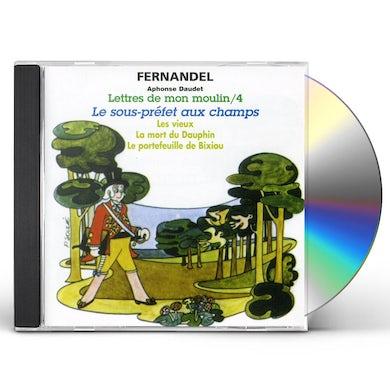 Fernandel LETTRES DE MON MOULIN 4: LE SOUS PREFET CD