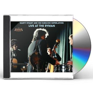 Marty Stuart LIVE AT THE RYMAN CD