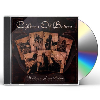 Children Of Bodom HOLIDAY AT LAKE BODOM: 15 YEARS OF WASTED YOUTH CD