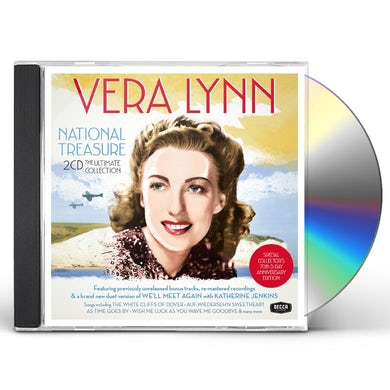 Vera Lynn NATIONAL TREASURE: THE ESSENTIAL COLLECTION CD