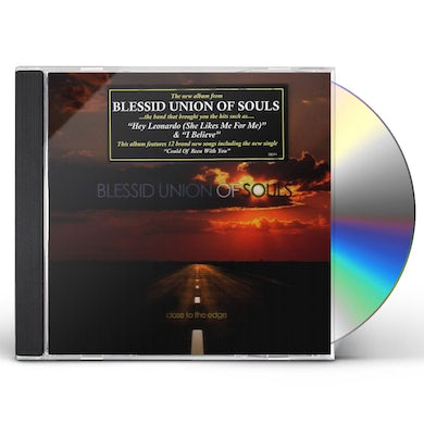 Blessid Union Of Souls CLOSE TO THE EDGE CD