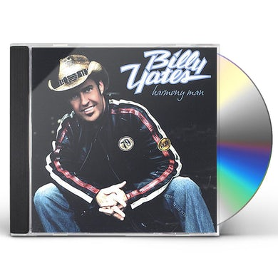 Billy Yates HARMONY MAN CD