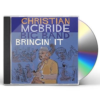 Christian Mcbride BRINGIN' IT CD