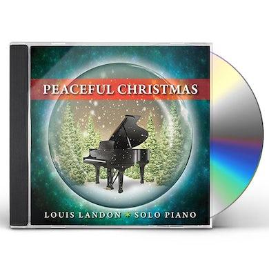 Louis Landon PEACEFUL CHRISTMAS - SOLO PIANO CD