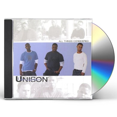Unison ALL THINGS CONSIDERED CD