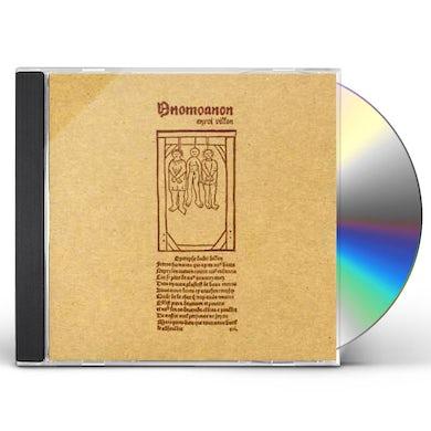 Anomoanon ENVOI VILLON CD