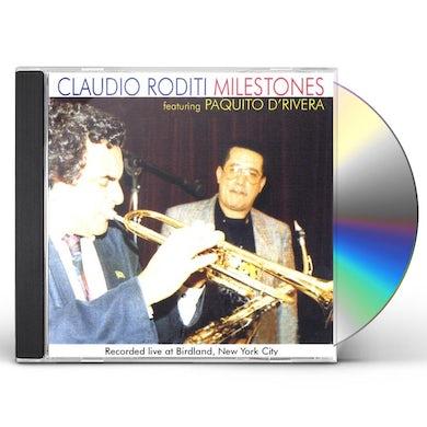 Claudio Roditi MILESTONES CD