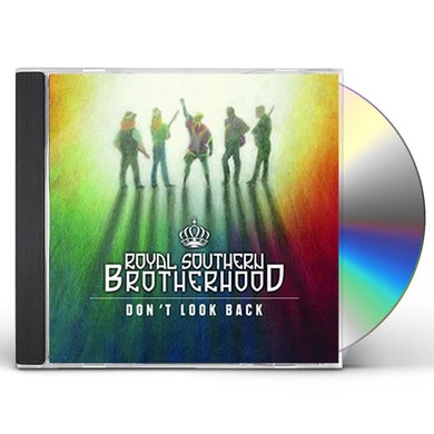 Royal Southern Brotherhood DON'T LOOK BACK - THE MUSCLE SHOALS SESS CD