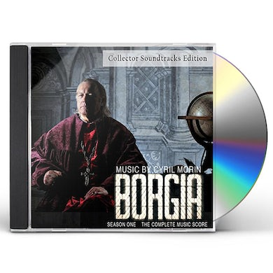 Cyril Morin BORGIA: SEASON 1: COMPLETE MUSIC SCORE / Original Soundtrack CD
