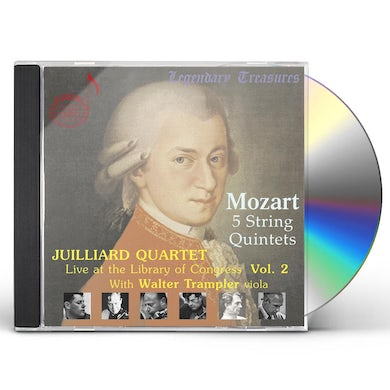 Juilliard String Quartet LIVE AT THE LIBRARY OF CONGRESS 2 CD
