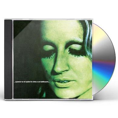 Mina QUANDO TU MI SPIAVI IN CIMA A UN BATTICUORE CD