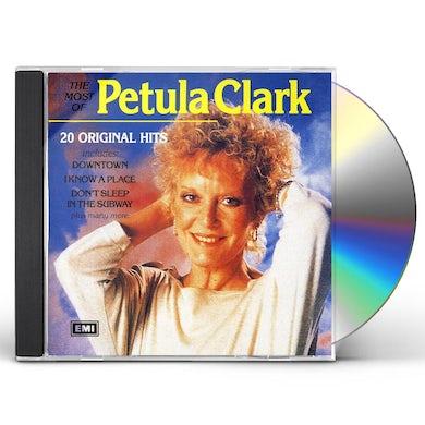 MOST OF PETULA CLARK CD
