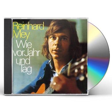 Reinhard Mey WIE VOR JAHR & TAG CD