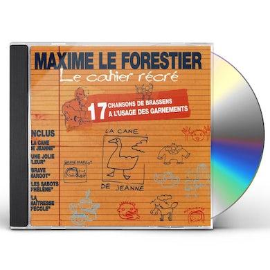 Maxime Le Forestier LE CAHIER RECRE CD