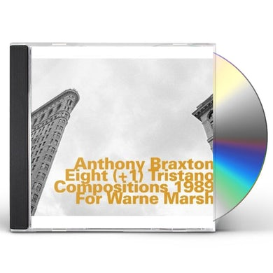 Anthony Braxton EIGHT TRISTANO COMPOSITIONS 1989 FOR W MARSH CD
