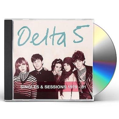 Delta 5 SINGLES & SESSIONS 1979-81 CD