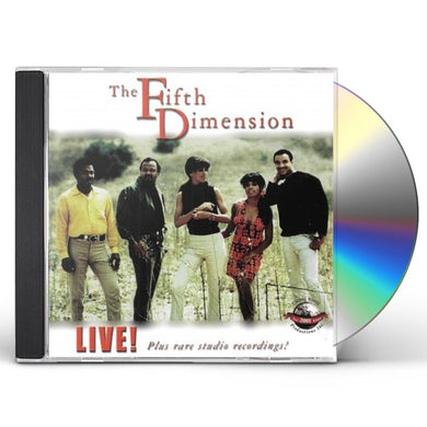 Fifth Dimension LIVE PLUS RARE STUDIO RECORDINGS CD