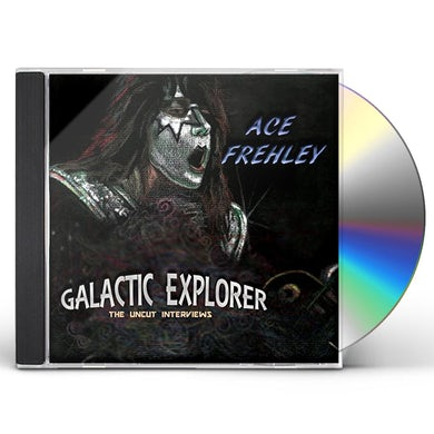 Ace Frehley GALACTIC EXPLORER: THE UNCUT INTERVIEWS CD