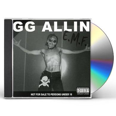 Gg Allin E.M.F. CD
