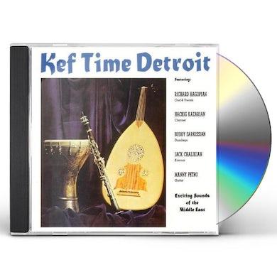 Richard Hagopian KEF TIME DETROIT CD