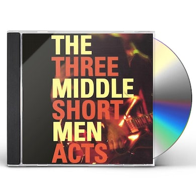 Middle Men THREE SHORT ACTS CD