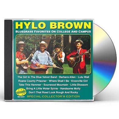 Hylo Brown BLUEGRASS FAVORITES ON COLLEGE & CAMPUS CD