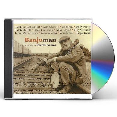 Arlo Guthrie BANJOMAN: TRIBUTE TO DERROLL ADAM CD