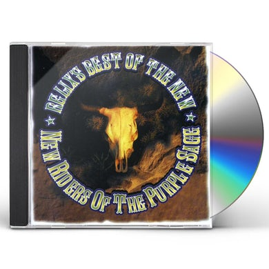 New Riders Of The Purple Sage VERY BEST OF THE RELIX YEARS CD