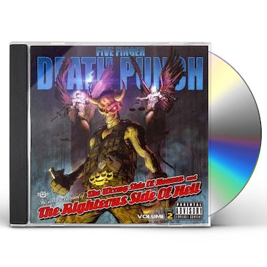 Five Finger Death Punch WRONG SIDE OF HEAVEN & RIGHTEOUS SIDE OF HELL 2 CD