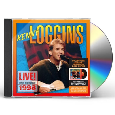Kenny Loggins LIVE! ROCK 'N ROCKETS 1998 CD