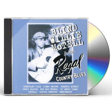 Blind Willie Mctell REGAL COUNTRY BLUES CD