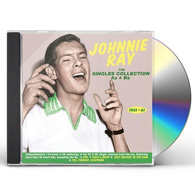 Johnnie Ray SINGLES COLLECTION AS & BS 1951-61 CD