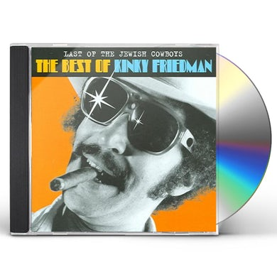 Kinky Friedman LAST OF THE JEWISH COWBOYS: THE BEST OF CD