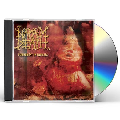 Napalm Death PUNISHMENT IN CAPITALS CD