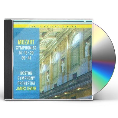 Boston Symphony Orchestra MOZART: SYMPHONIES 14, 18, 20, 39, 41 CD