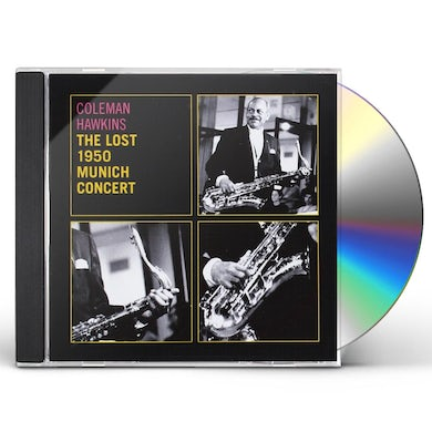 Coleman Hawkins LOST 1950 MUNICH CONCERT CD