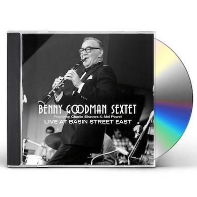 Benny Goodman LIVE AT BASIN STREET EAST CD