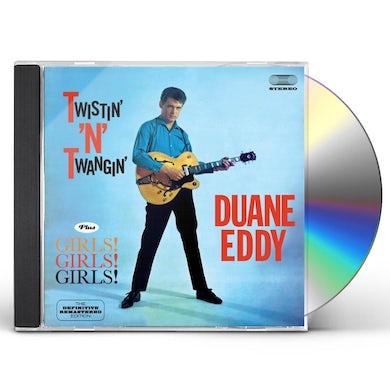 Duane Eddy TWISTIN N TWANGIN CD
