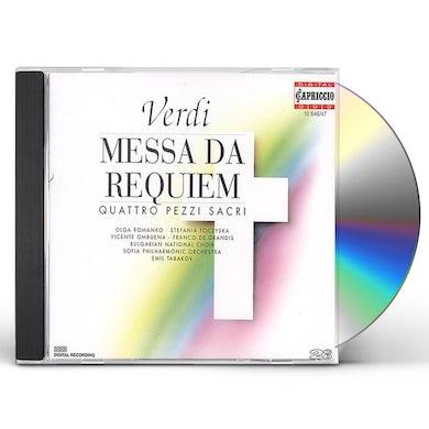 Verdi MESSA DA REQUIEM CD