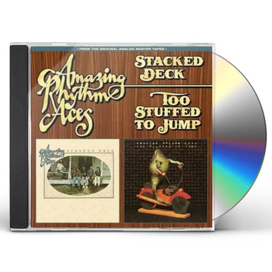 Amazing Rhythm Aces STACKED DECK / TOO STUFFED TO JUMP CD
