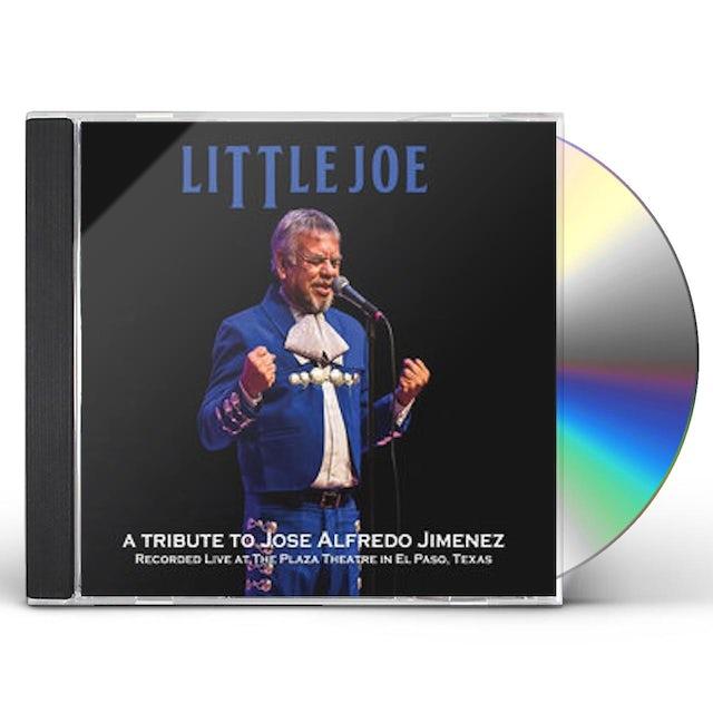 little joe TRIBUTE TO JOSE ALFREDO JIMENEZ CD