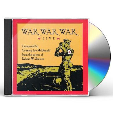 Country Joe McDonald WAR WAR WAR LIVE CD