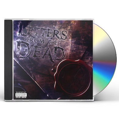 Evans Blue LETTERS FROM THE DEAD CD
