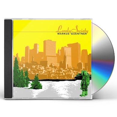 Markus Guentner LOVELY SOCIETY CD