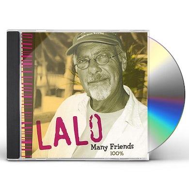 Lalo MANY FRIENDS 100 PERCENT CD