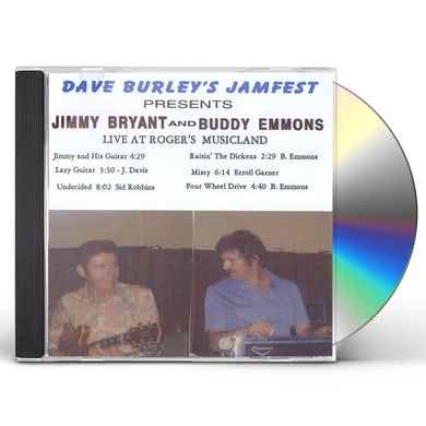 Jimmy Bryant DAVE BURLEYS JAMFEST LIVE AT ROGERS MUSICLAND CD